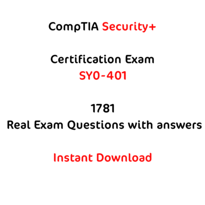 Comptia SY0-401