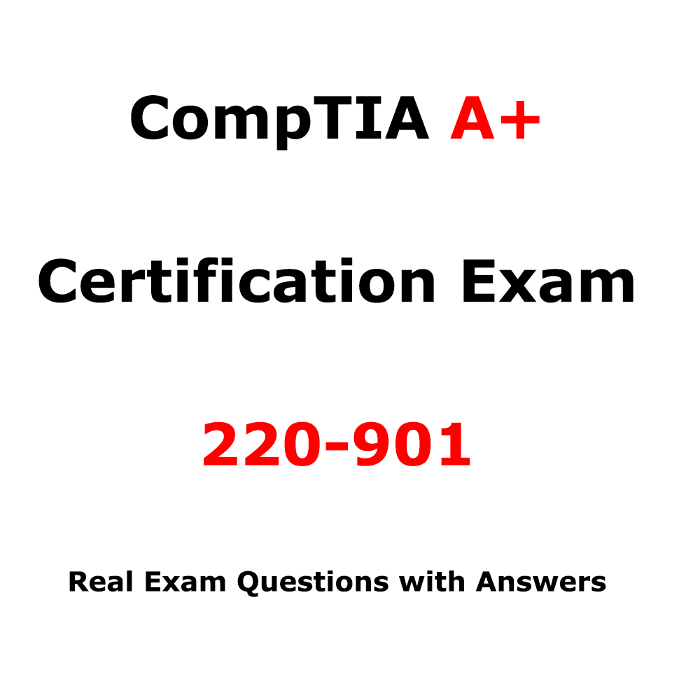 Comptia A Certification Exam 220 901 530 Questions Itil